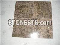 China Coffee Brown Marble Tiles, Natural Coffee Marble Tiles