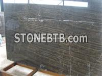 China Coffee Veins Marble Slab, Natural Coffee Marble Slab