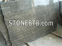 China Coffee Strip Marble Slab, Natural Coffee Marble Slab