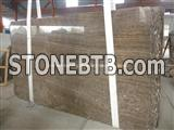 China Coffee Brown Marble Slab, Natural Coffee Marble Slab