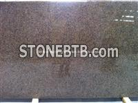 Saudi Tropical Brown Granite Slab, Natural Brown Granite Slab