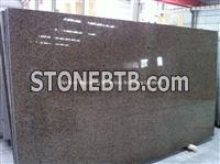 Saudi Tropic Brown Granite Slab, Natural Brown Granite Slab
