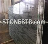 China Baboom Green Granite Big Slab, Natural Green Granite Slab