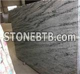 China Silk Green Granite Big Slab, Natural Green Granite Slab