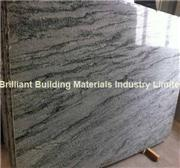 China Wave Green Granite Big Slab, Natural Green Granite Slab