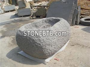 grey sandstone-wash basin