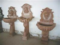 Stone Carving Wall Fountain