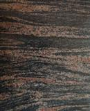 Brown black granite