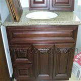 Granite Countertop, Vanity Top with Wooden Cabinet