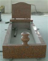 Red granite monument 006