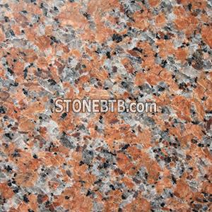 G562 Maple Red cenxi red maple leaf red hong granite tile cut to size