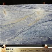 Imported blue marble slabs