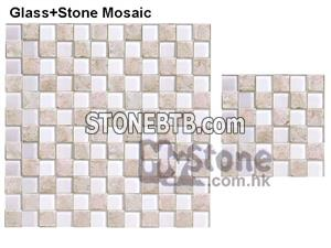 Cast Stone&Glass Mosaic