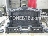 Traditional granite headtone,granite monument