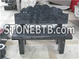 Granite benches for grave