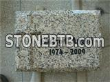 Granite headstone accessories for cemetery
