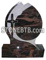 New design headstone granite monument with carving