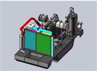 Air Compressor For Ship Use