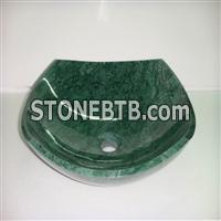 Green Marble Stone Sink