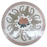 Stone Inlay Medallions