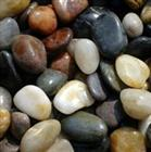 Mixed pebble for decoration