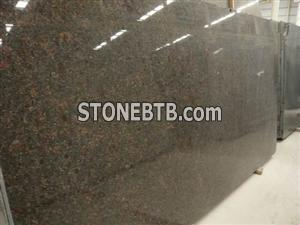 tan brown granite slab