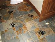 Multicolor Slate Floor Tiles