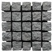 G603 Granite Paving Stone On Mesh