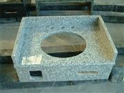 Padang light granite vanity tops