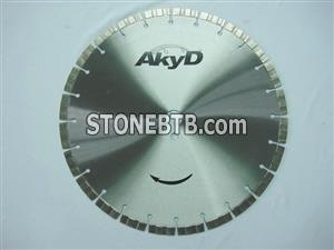 Saw Blade for Reinforced Concrete
