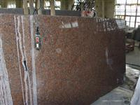 G562 Granite, Maple Red Granite Slabs