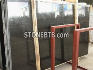 Black Wooden Grain Marble