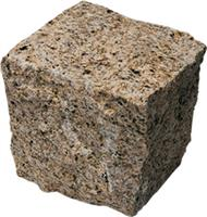 Yellow Granite Cube
