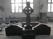 Black Granite Easten European Cross