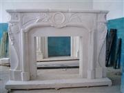 Flower Style Fireplace