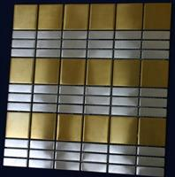 Stainless steel mosaic tile ST055