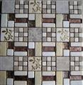 Carving flower marble mosaic ST062