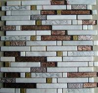 Multicolor marble mosaic ST065