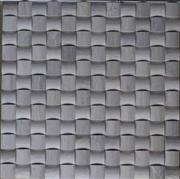 Grey wood vein marble mosaic ST116