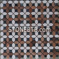 Multicolor marble mosaic ST077