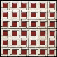 stone mix glass mosaic ST091