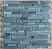 glass mix marble mosaic ST113