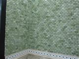 green marble mosaic ST036