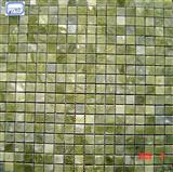 green marble mosaic ST123