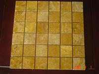 yellow stone mosaic ST125