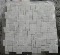 White marble mosaic ST022