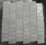White marble mosaic ST021
