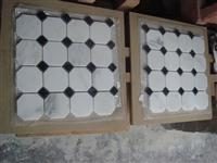 White marble mosaic ST024
