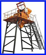 Sell Concrete Mixer With Skip Hopper