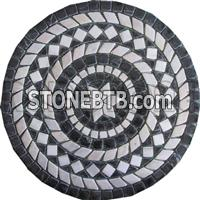 Natural Marble Mosaic/Medallion/Pattern RM006